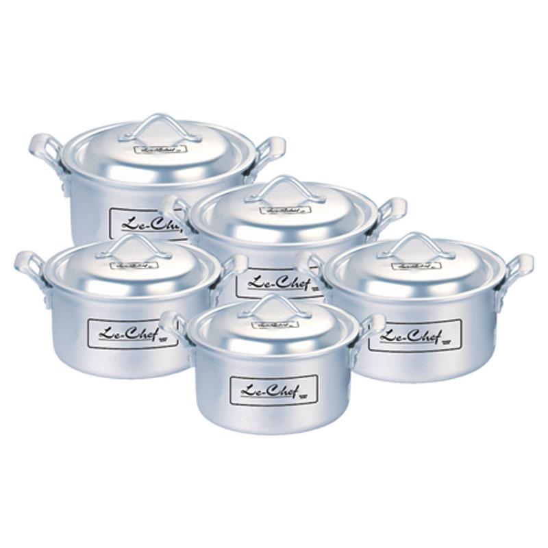 Le Chef | Anodized Royal Cooking Pot 4 Pcs Set 13×16 – LE511970-A