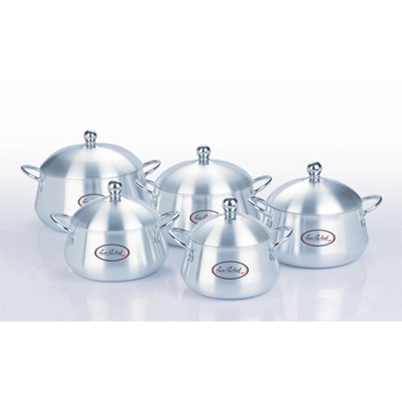 Le Chef | Metal Finish Belly 5 Pcs Set (16×24) 1×5 – LE515715