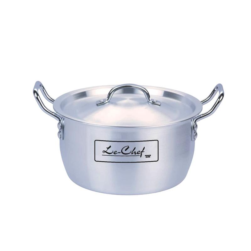 Le Chef | Metal Finish Superior Topical Cooking Pot 5 Pcs Set 7×11 – LE513315