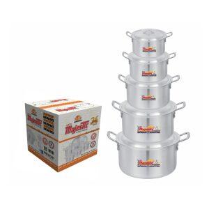 Majestic Junior Cooking Pot 5 Pcs Set 1×5 – CPMF-1x5HOM