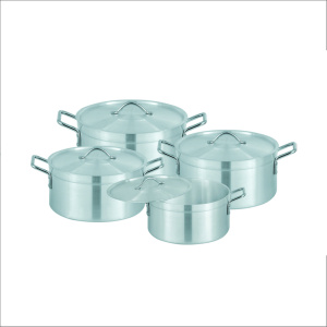 Sonex Heavy Ground Cooking Pots 4 Pcs Set 7×10 – 50314