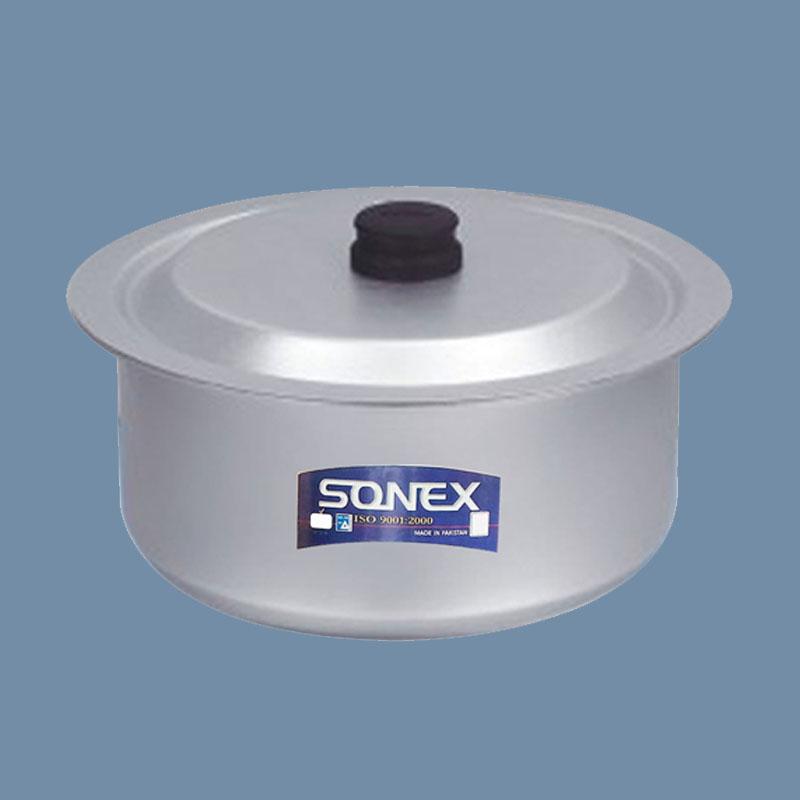 Sonex   Anodized Salvano Cooking Pot No 4 – 26 Cm   SSAD1X4D