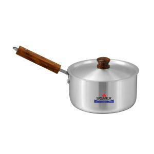 Sonex Sauce Pan Wooden Hanlde With Lid No 1 – 16.5 Cm – 50275