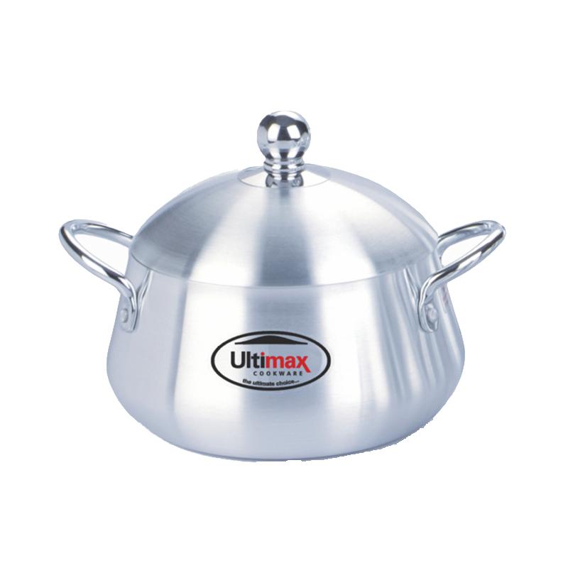 Ultimax | Metal Finish Belly Pot 22 Cm – UL15722