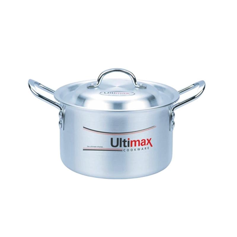 Ultimax | Metal Finish Gloreous Cooking Pots 5 Pcs Set 1×5 – UL512015