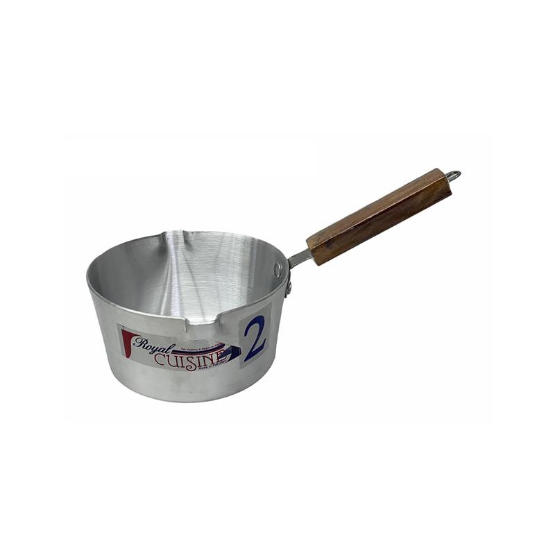 Royal Cuisine | Metal Finish Milk Pan No 2 | MPRC2