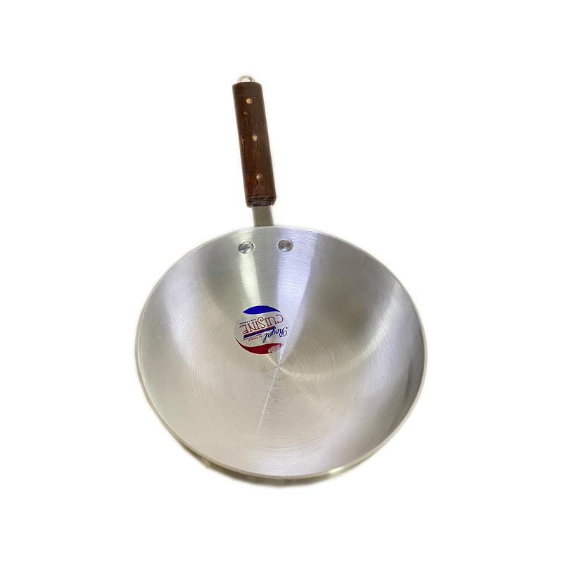 Royal Cuisine | Metal Finish Cooking Wok No 10 | WOKS-RC10