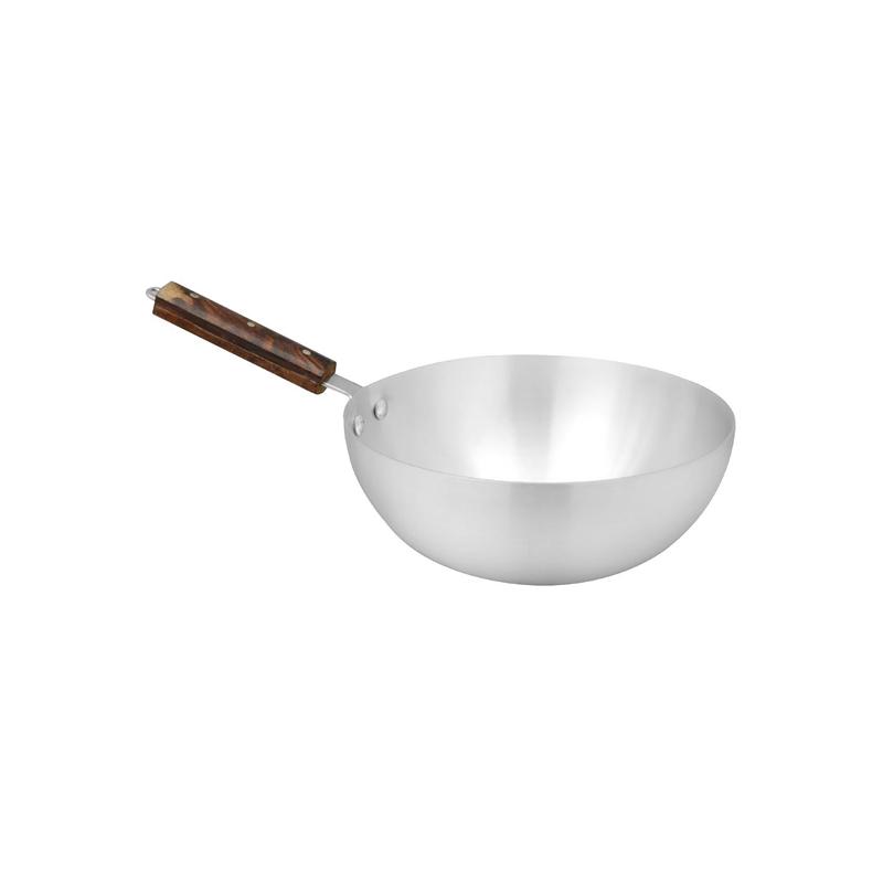 Royal Cuisine | Metal Finish Cooking Wok 3 Pcs Set 7×9 | WOK7x9RC