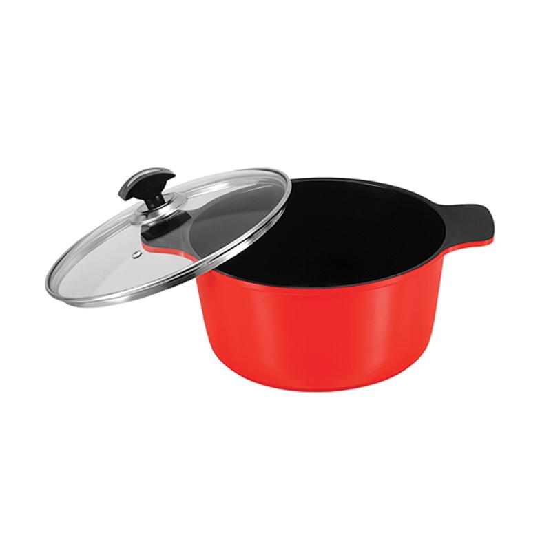 Sonex   Die Cast Omega King Ceramic Coating Cooking Pot No 4 – 30 Cm   52262