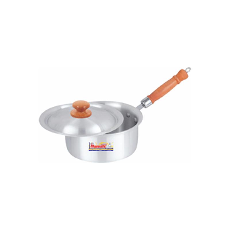 Majestic | Metal Finish Sauce Pan with Steel Lid 3 Pcs Set 1×3 – SPHOM1x3