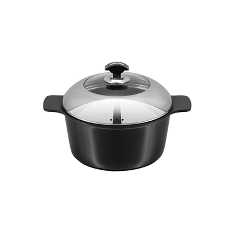Sonex   Die Cast Splendor King Pot No Ceramic Coating  4 – 30 Cm   52244