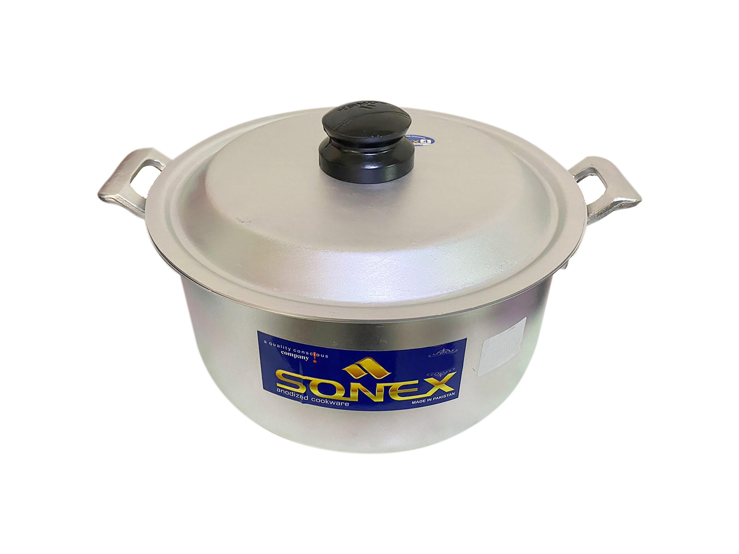 Sonex | Anodized Casted Handle Cooking Pot No 1 – 19 Cm | SSCH1x4A
